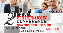 2nd Annual Pension/Admin Conference 2017