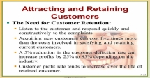 Strategies for Obtaining and Retaining Active Customers