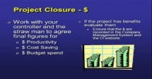 Training Course on Closure Works