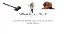 Training on Conflict Management and Peace building