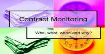 Training Course on Contract Monitoring and Disbursement Management