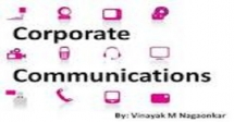Training On Introduction To Corporate Communications