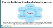 Training On Analysing Disrupted Health Systems
