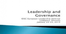 Course on ICT For Public Participation, Leadership , Governance