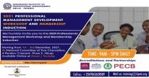 Professional Management Development Workshop and Membership Induction