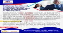 Building Emotional Intelligence and Effective Leadership Skills in Managers at Workplace