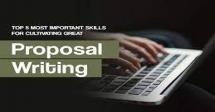 Proposal Writing Skills