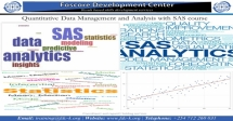 Quantitative Data Management and Analysis with SAS Course