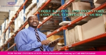 Stores Keeping and Inventory Control Strategies Course