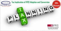 Tax Implication of IFRS Adoption and Conversion Course