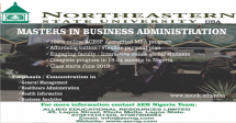 Northeastern State University Masters in Business Administration Program